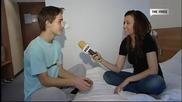 Интервю с Богомил Бонев - The Voice Нахлува в стаята му и го буди!!