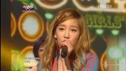 (hd) Tts - Twinkle (goodbye stage) ~ Music Bank (01.06.2012)