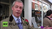 UK: Farage makes last minute attempt to win over Ramsgate voters