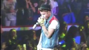 Justin Bieber & Jaden Smith - Fairytale ( Believe Tour November 5 2012 )