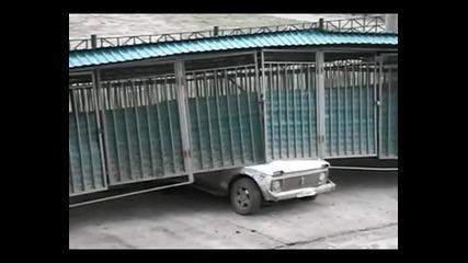 Ураган помита гаражи