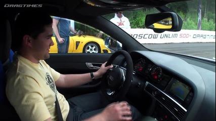 Hd Audi Rs6 720hp vs Toyota Supra 700hp
