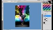 Фотошоп танцьор / Photoshop dancer in the city