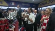 Russia: Putin, Macron and Grabar-Kitarovic visit WC 2018 winners after decisive clash