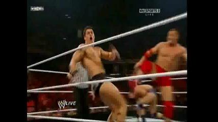 Raw 20.09.10 - Dashingtyre vs Santino Marella & Kozlov