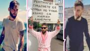 Момчето с халата и яките надписи: Защо се снима в този вид и за скандалните му кадри с Азис