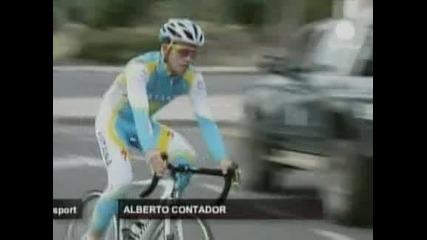 Една година наказание грози Контадор, обявяват санкцията в четвъртък
