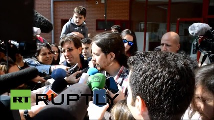 Spain: Pablo Iglesias says 2015 is the 'year of change' ahead of regional elections