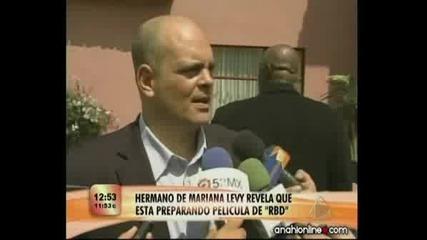 Pelicula Rbd Llevada A La Pantalla Por Coco Levy Escandalotv