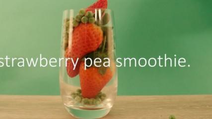 Eat the Season: Protein packed pea smoothie