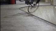 Невероятни трикове с шосейно колело !!!