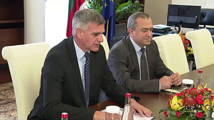 Министър-председателят Стефан Янев се срещна с посланика на Израел Йорам Елрон