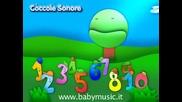 Песничката за числата на италаински