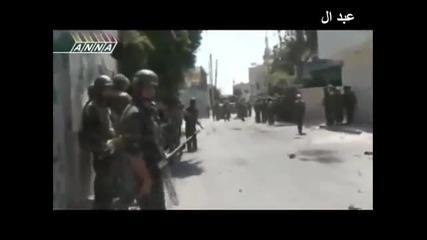 Голяма военна операция на Сирийската армия срещу бунтовниците на Запада