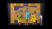 Schleck and Contador debate
