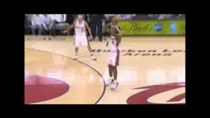 bron Blocks Dwight Howard and 3 Pointer vs.magic [09 Ecfs]