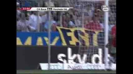 Бока Хуниорс 0 - 1 Манчестър Юнайтед Андерсон