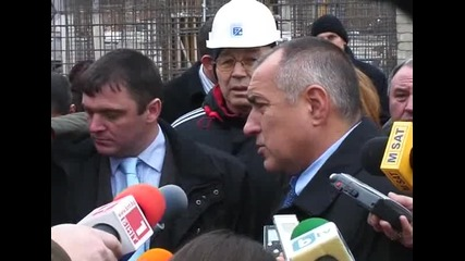 Премиерът вгради послание в основите на строящата се спортна зала в София