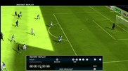 Прекрасен гол на М.петров сус зверски удар!!!fifa 10