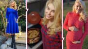 Бременната Ева Веселинова не може дълго време да стои права, но сготви вкусна народна гозба