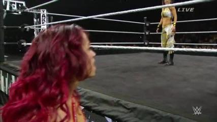 Bayley с/у Sasha Banks - Nxt Women's Championship Match - Nxt Takeover Brooklyn