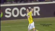 Молдова 0:2 Швеция 27.03.2015