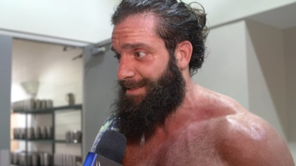 Elias celebrates with his eyes on the exits: WWE.com Exclusive, Aug. 20, 2019