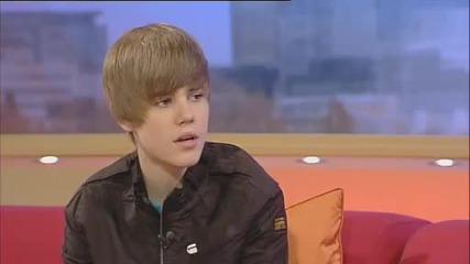 Justin Bieber on Gmtv!