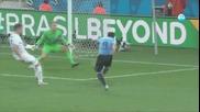 Уругвай победи Англия с 2:1