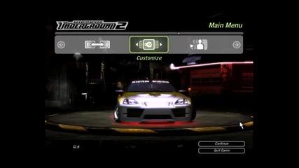 Nfsu2 Tuning Honda Civic And Race