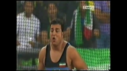 Ehsan Hadadi 67.99m in the 16th Asian Games 2010 Guangzhou