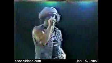 Ac/dc - Shoot To Thrill (live)