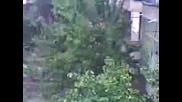 Проливен дъжд във Враца!