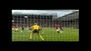 Manchester United - Arsenal Londyn 2 - 1 [29.08.2009]