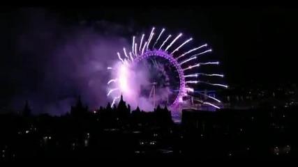 2012 Нова Година в Лондон (london Eye)