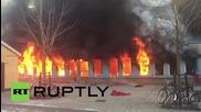 Подпалват джамия в Швеция