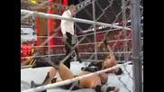 Randy Orton vs Seth Rollins ( Steel Cage Match - Rko е забранено ) - Extreme Rules 2015