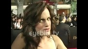 Elizabeth Reaser: Robert Pattinson is a really smart guy - at the Twilight Saga New Moon Premiere