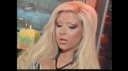 фолк певицата Андреа - Манекенка