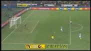 Италия 0–3 Бразилия - Купа на конфедерациите - авто гол на Андреа Досена 21.06.09