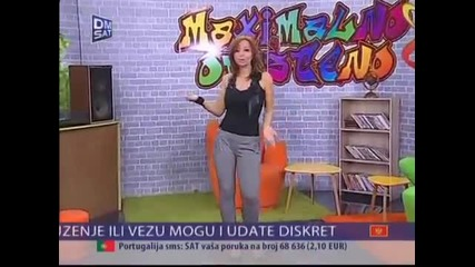 Natasa Djordjevic - I da klecis i da molis - Tv Dm Sat 2015