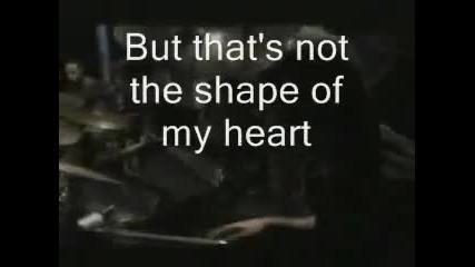 Sting - Shape of my heart (lyrics)