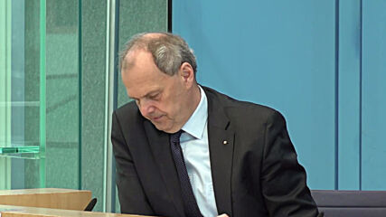 Germany: Members of parliament discuss Wirecard AG case at federal press conference