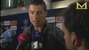 Cristiano Ronaldo обяснява как се краде ток (смях)