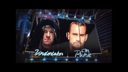 Cm punk vs Undertaker wm29 Promo!