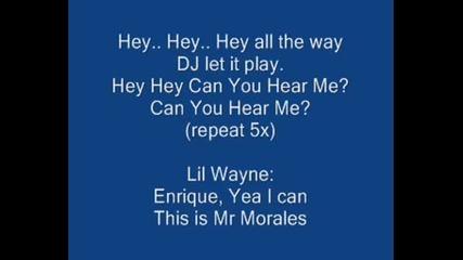 Enrique Iglesias - Can You Hear Me С Текс