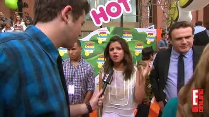 2011 Kids' Choice Awards Selena Gomez