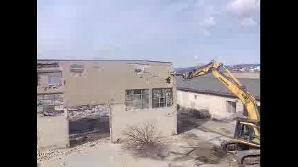 Събаряне на зграда