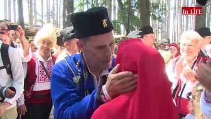 Тежката българска сватба на Бен Крос и Деяна