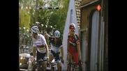 Paris - Roubaix 2011: Решителен момент - Cancellara, Hushovd и Ballan се откъсват